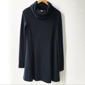 Cabi #239 Cowl Neck Tunic Dress Black Size S